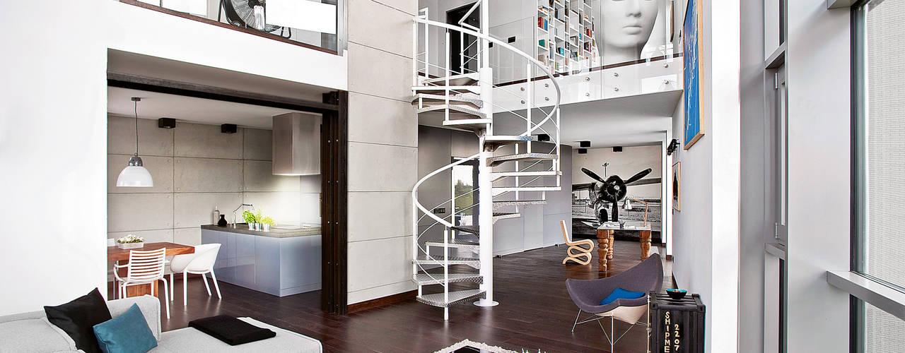 Corridor & hallway by justyna smolec architektura & design