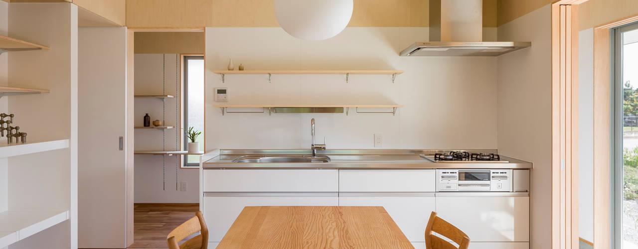 House in Hashie: 矢内建築計画 一級建築士事務所が手掛けたキッチンです。