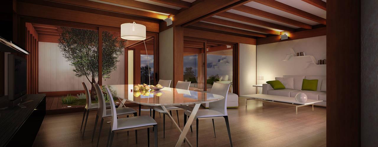 Salon moderne par 3dforme Moderne