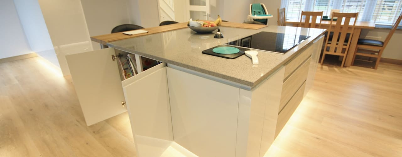 Cocinas de estilo  por Kitchencraft, Moderno