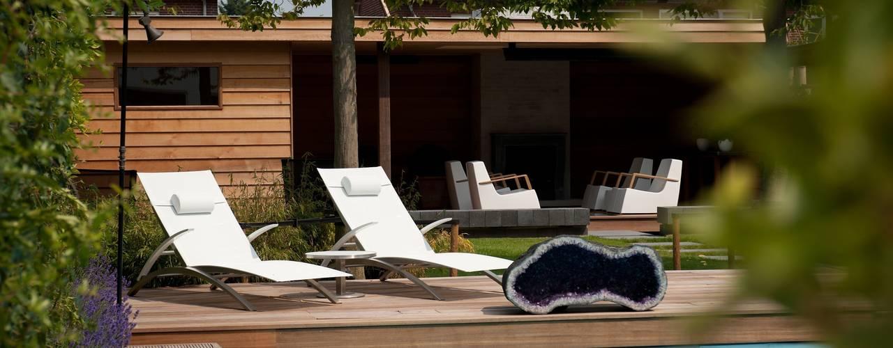 Luxe tuin met wellness Moderne tuinen van Stoop Tuinen Modern
