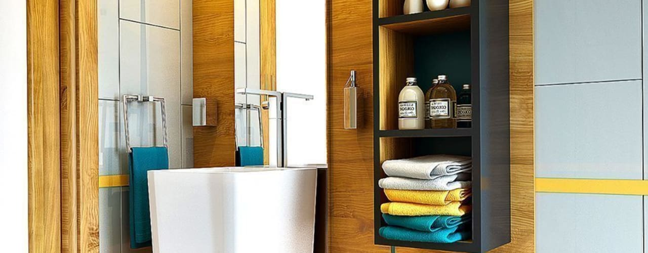 Erbek Nif 3+1 Villa için Tasarımlar - Üst Kat Modern Banyo Penintdesign İç Mimarlık Modern