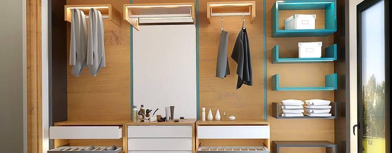 Vestidores y placares de estilo moderno de Penintdesign İç Mimarlık Moderno