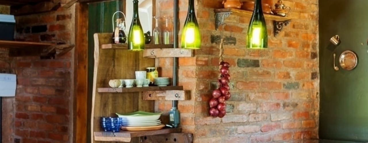Cocinas rústicas de Ferraro Habitat Rústico