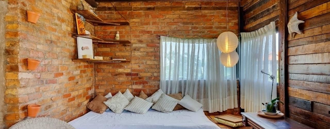 Ruang Keluarga Gaya Rustic Oleh Ferraro Habitat Rustic