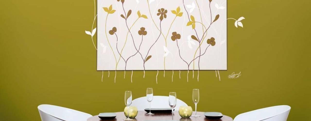 Comedores de estilo moderno de Murales Divinos Moderno