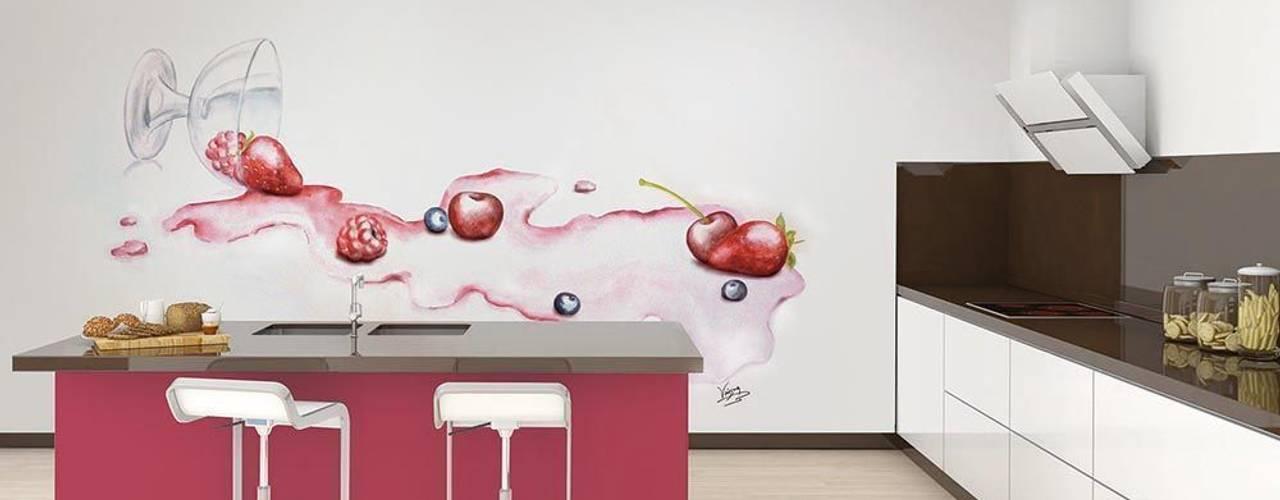 Murales Divinos Cuisine moderne