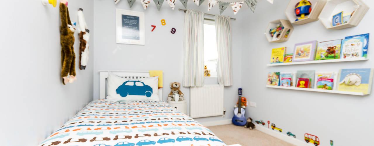 Jaeden's Bedroom MK Kid Interiors Modern Bedroom