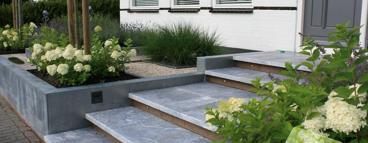 庭院 by Visser Tuinen