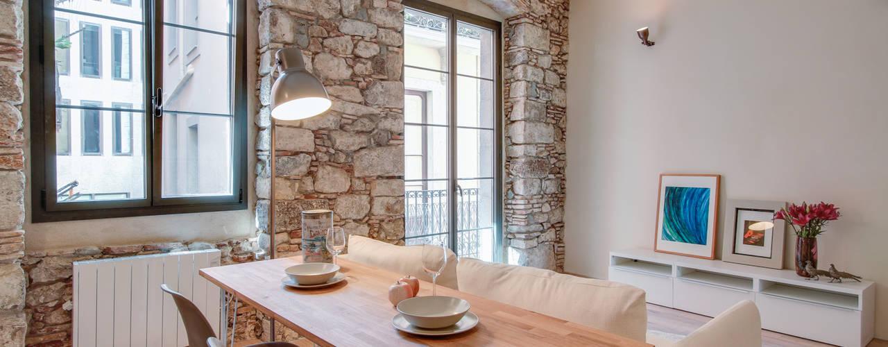 Projekty,  Jadalnia zaprojektowane przez Lara Pujol  |  Interiorismo & Proyectos de diseño