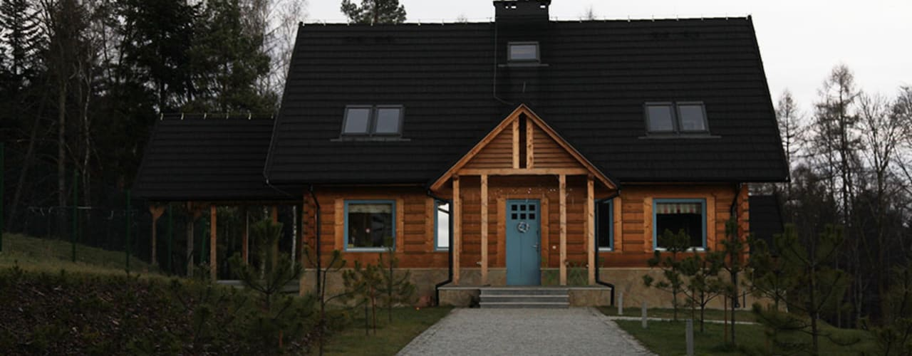Wooden houses by LK & Projekt Sp. z o.o.