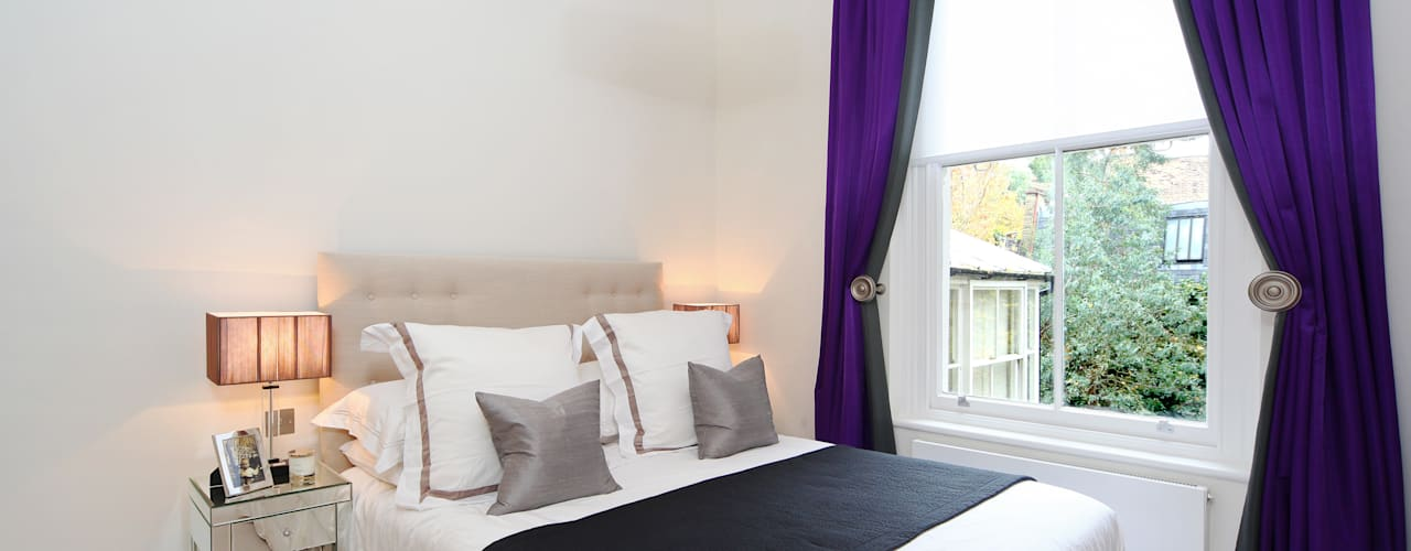 Projects:  Bedroom by Agata C Design