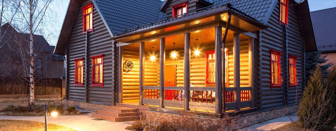 กระท่อมไม้ by Tatiana Ivanova Design