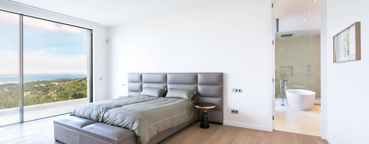 Quartos minimalistas por RM arquitectura Minimalista
