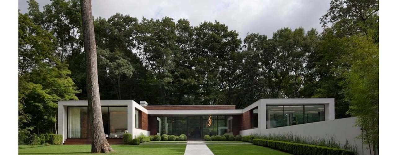 New Canaan Residence من Specht Architects حداثي