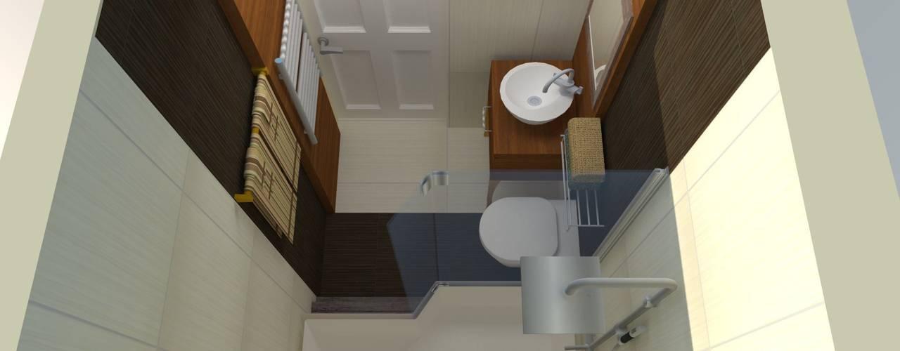 DETAY MİMARLIK MÜHENDİSLİK İÇ MİMARLIK İNŞAAT TAAH. SAN. ve TİC. LTD. ŞTİ. – Bathroom Project: akdeniz tarzı tarz Banyo