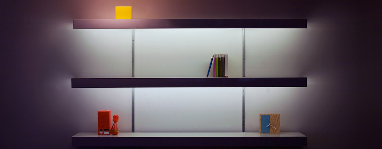 Shelving systems with lighting par ON&ON Moderne