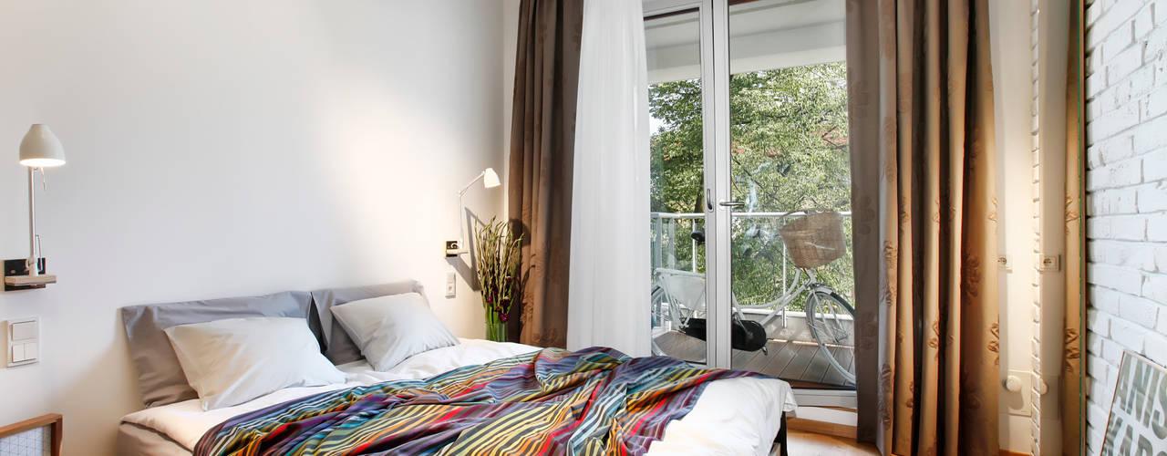 Sypialnia : styl , w kategorii Sypialnia zaprojektowany przez ARTEMIA DESIGN ,Nowoczesny