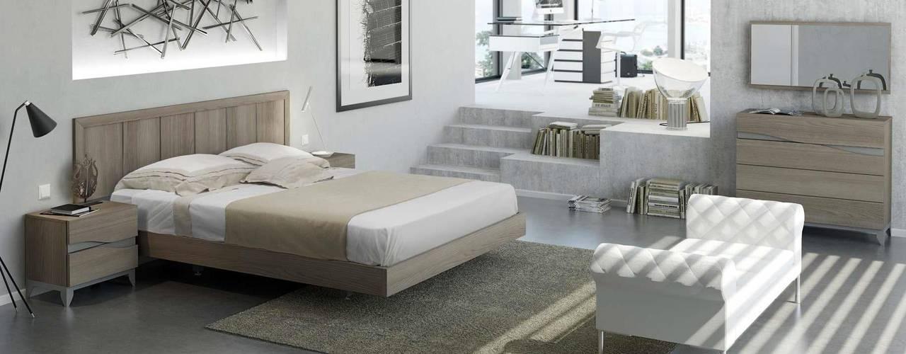 غرفة نوم تنفيذ CREA Y DECORA MUEBLES