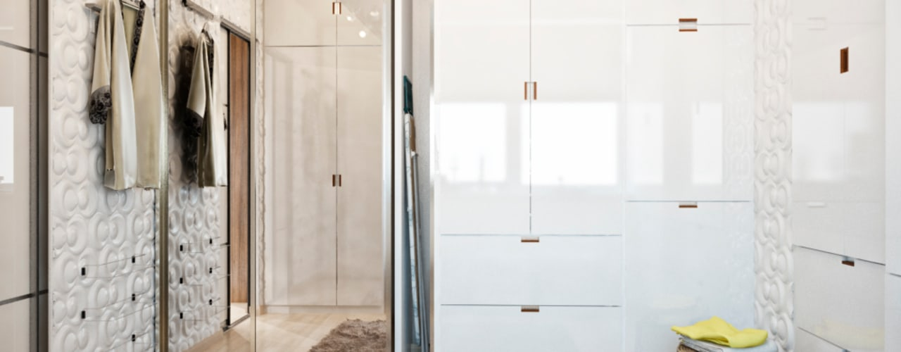 Closets minimalistas por Студия архитектуры и дизайна ДИАЛ Minimalista