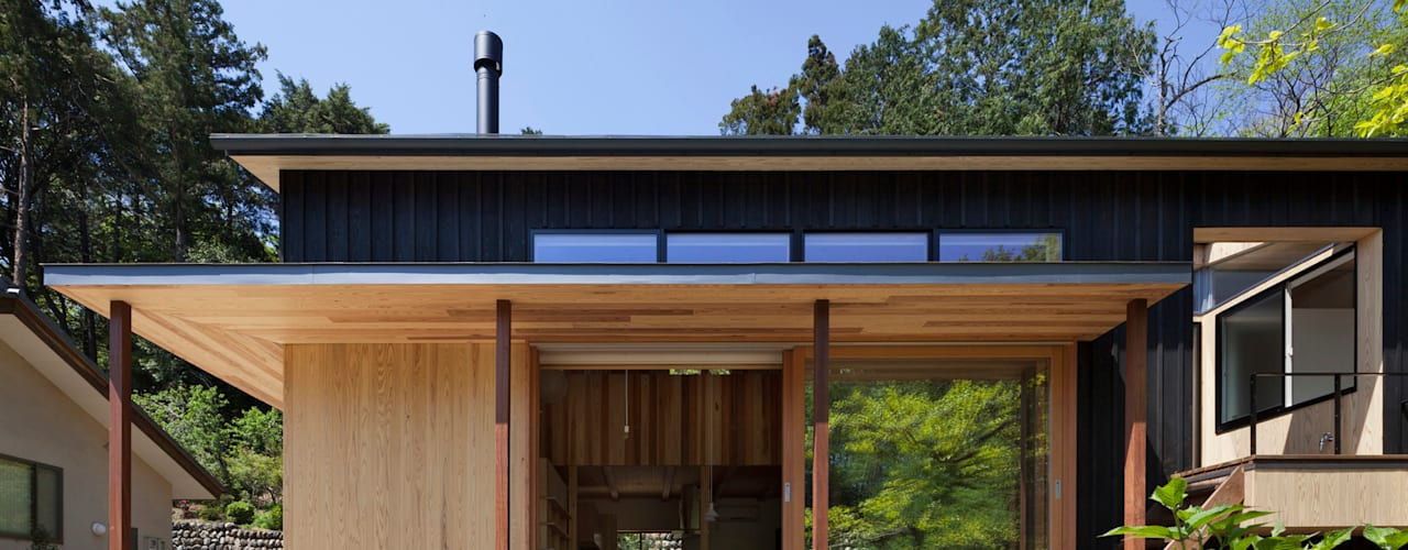 Modern Houses by HAN環境・建築設計事務所 Modern
