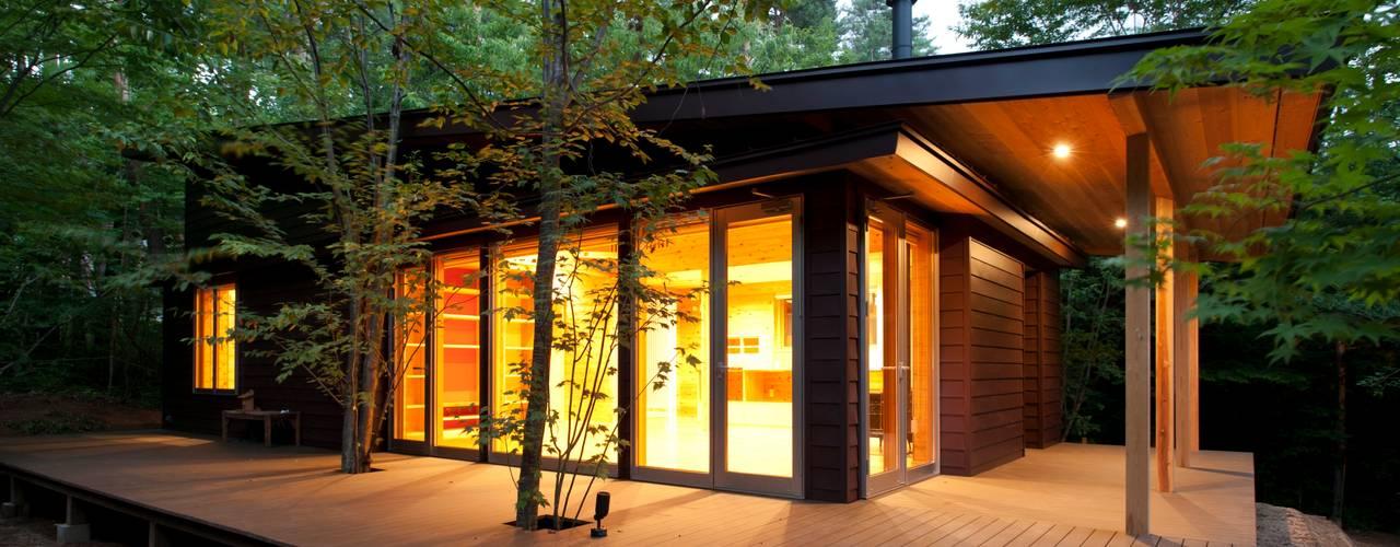 吉田建築設計事務所 บ้านและที่อยู่อาศัย เหล็ก Black