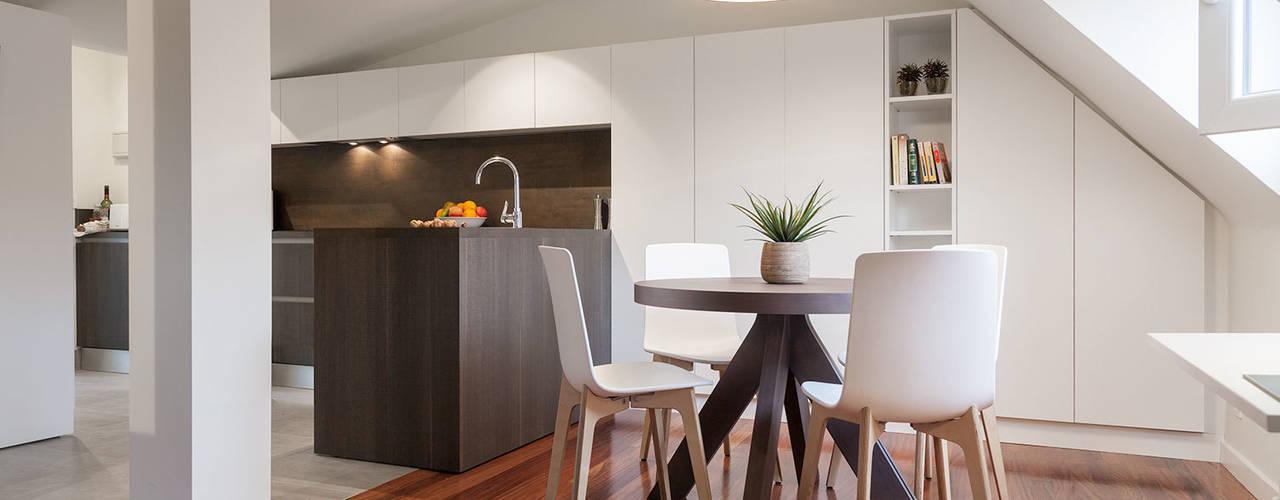 Salas de jantar  por Urbana Interiorismo