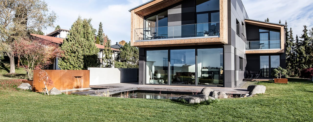 Eclectic style houses by 21-arch GmbH Eclectic