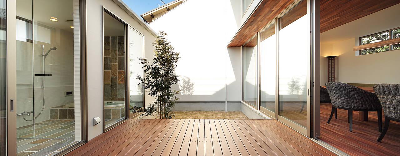 haus-vila アジア風 庭 の 一級建築士事務所haus 和風