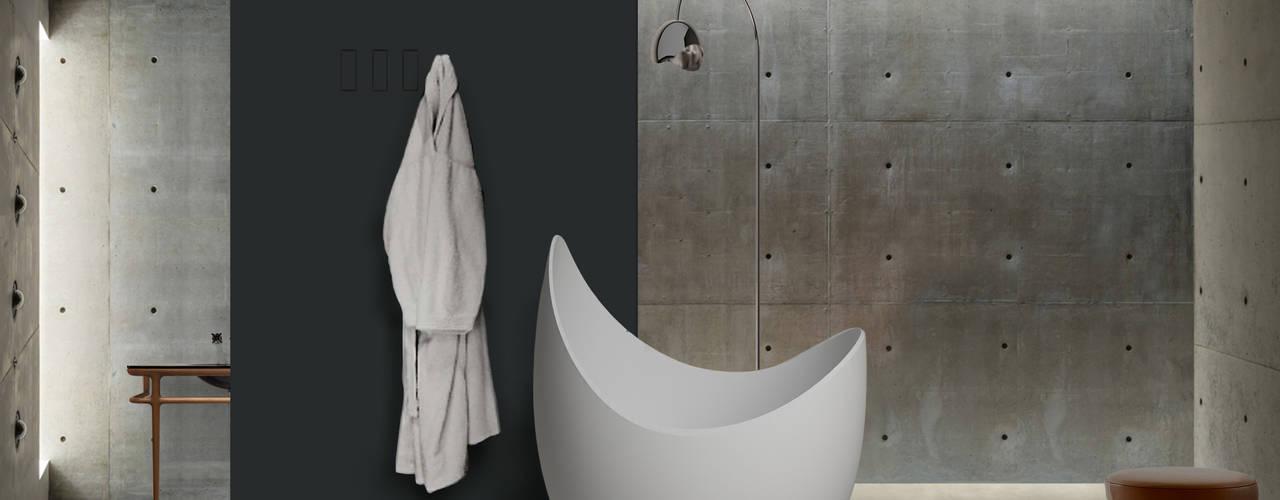 Lunetta (designer Cosetta Muggianu) CRISTALPLANT Bagno moderno