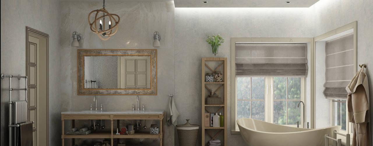 Eclectic style bathroom by Eclectic DesignStudio Eclectic