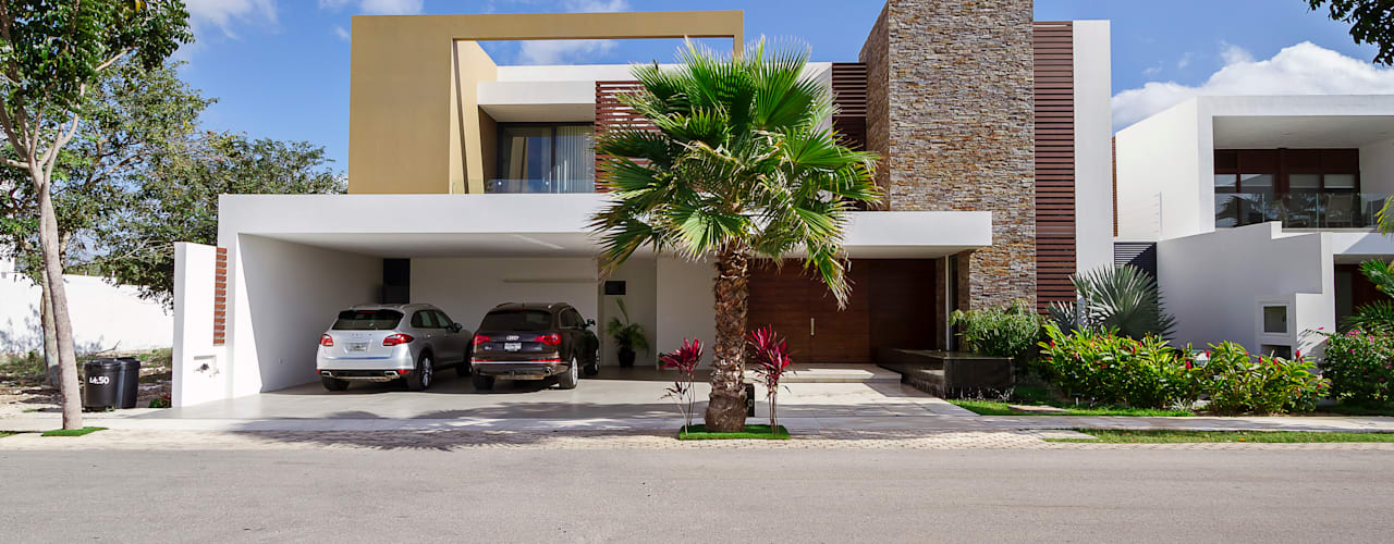 Casa Manantiales: Casas de estilo moderno por Enrique Cabrera Arquitecto