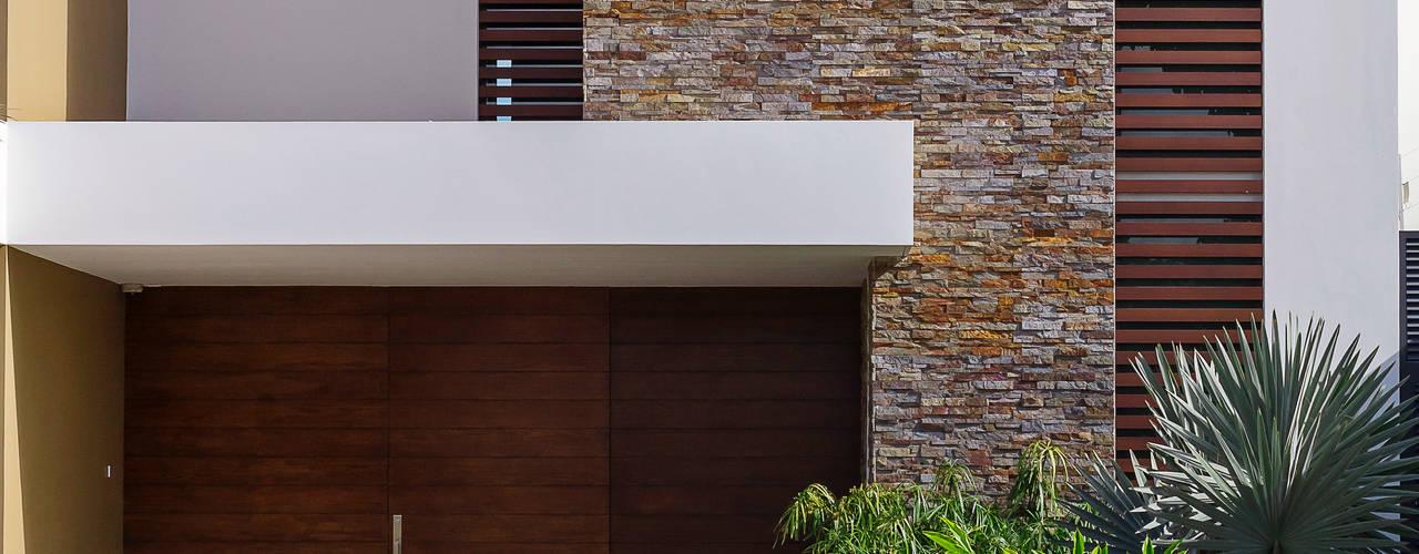 Maisons de style  par Enrique Cabrera Arquitecto, Moderne