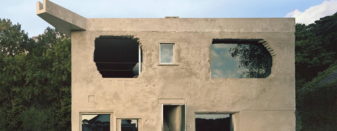 Projekty,  Domy zaprojektowane przez Brandlhuber+ Emde, Schneider