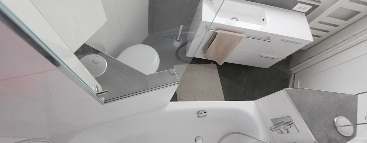 Badkamer door les bains et les cuisines d'Alexandre
