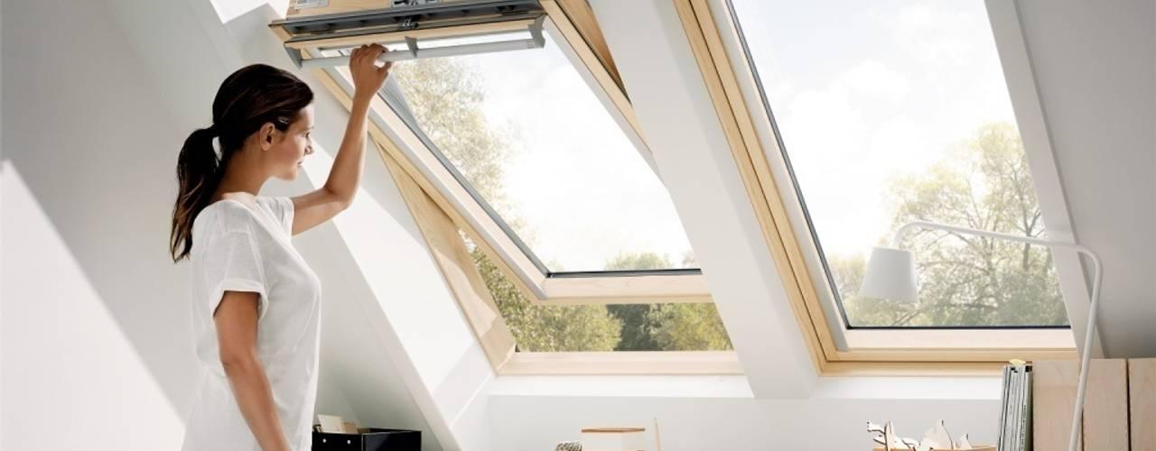 تنفيذ Fakro Pivot Çatı Pencereleri