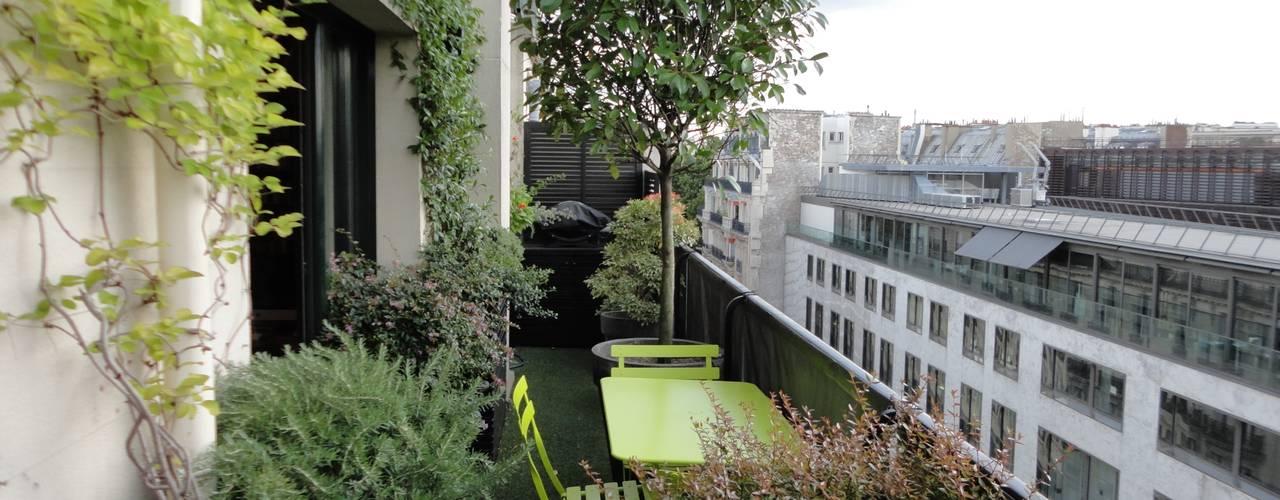 Schmaler Balkon | Vorher Nachher Schmaler Balkon Wird Grunes Paradies