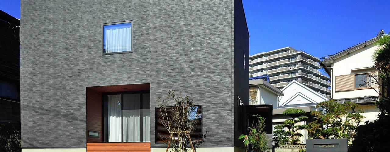 Casas estilo moderno: ideas, arquitectura e imágenes de 株式会社アトリエカレラ Moderno