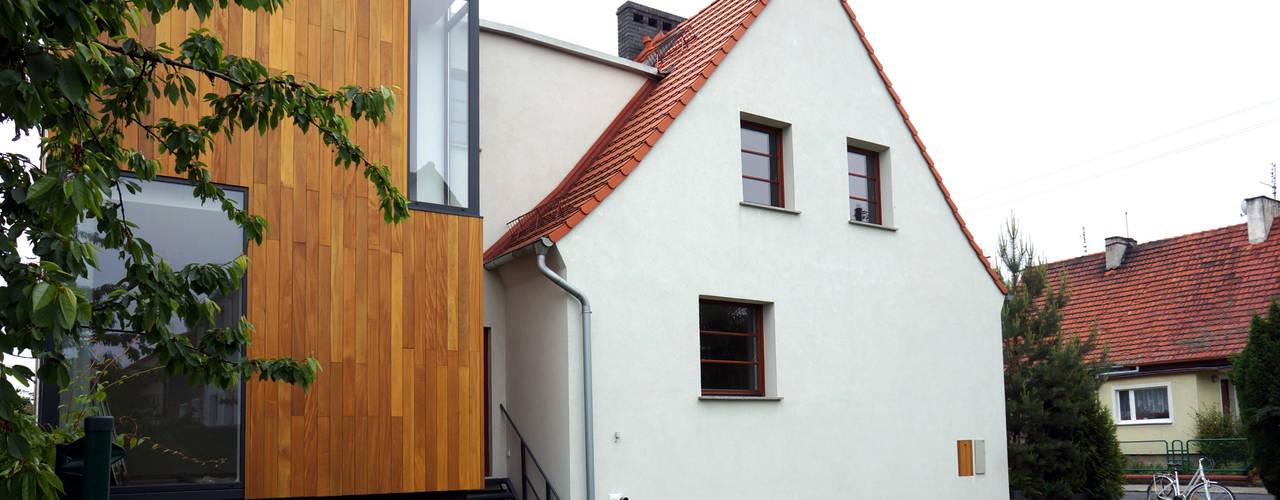 Moderne huizen van Grid Architekci Modern