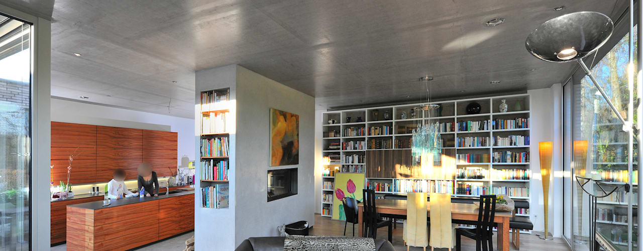 Livings de estilo moderno de Architekten Spiekermann Moderno