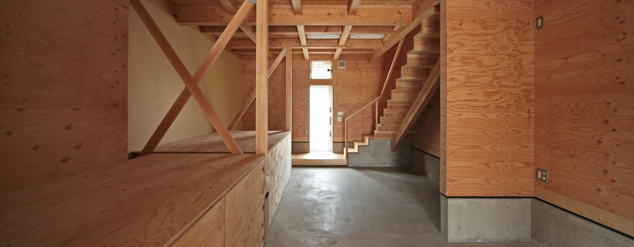 K氏のアトリエ オリジナルデザインの 多目的室 の 塔本研作建築設計事務所 オリジナル