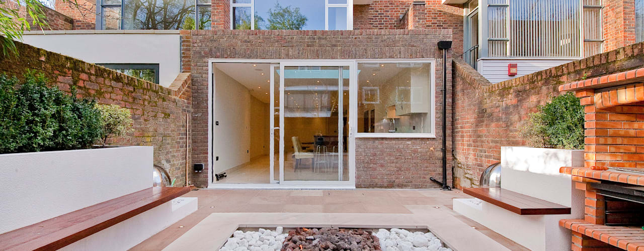 Private House - Holland Park :  Terrace by New Images Ltd