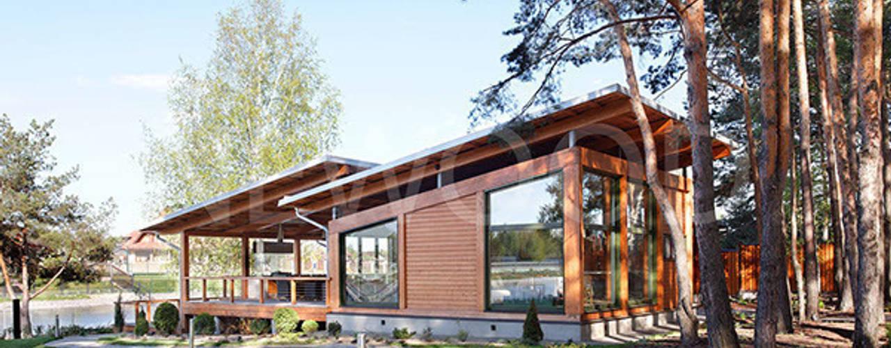 NEWOOD - Современные деревянные дома Nhà phong cách Bắc Âu