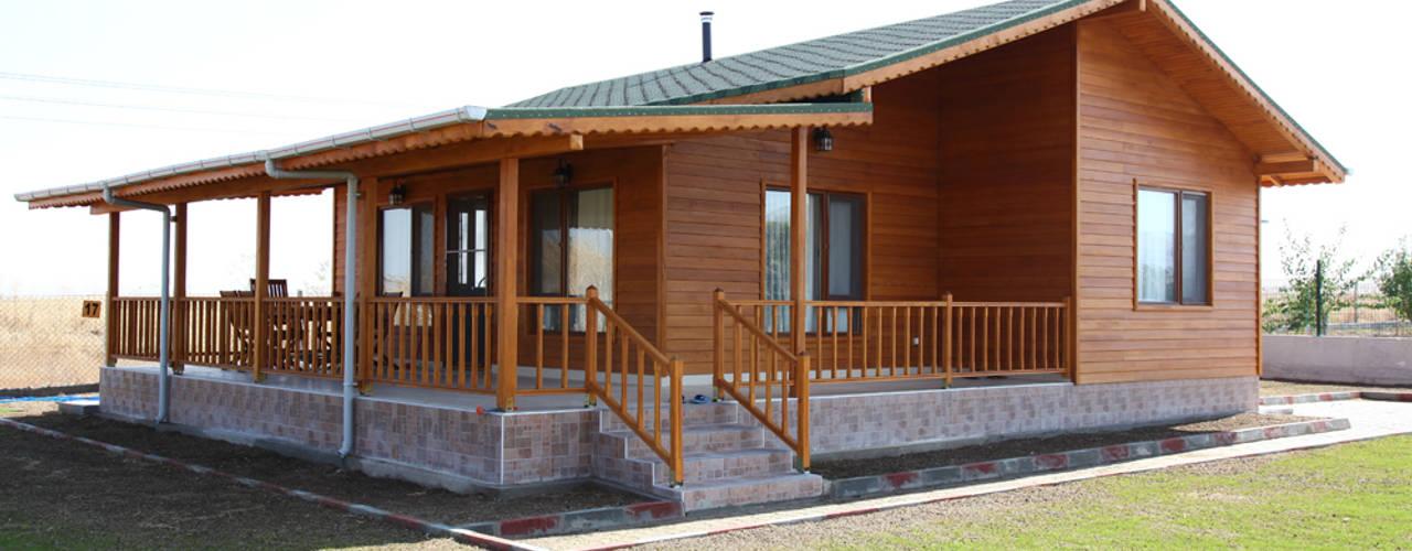 Una casa de madera de un solo piso al alcance de todos