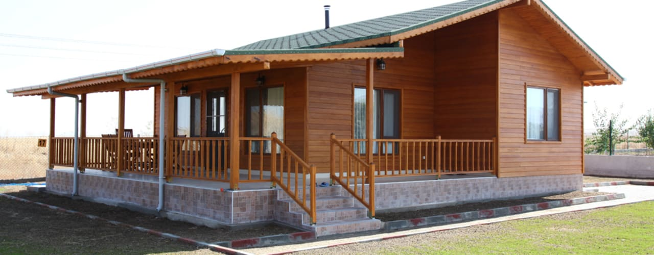 Maisons préfabriquées de style  par Kuloğlu Orman Ürünleri