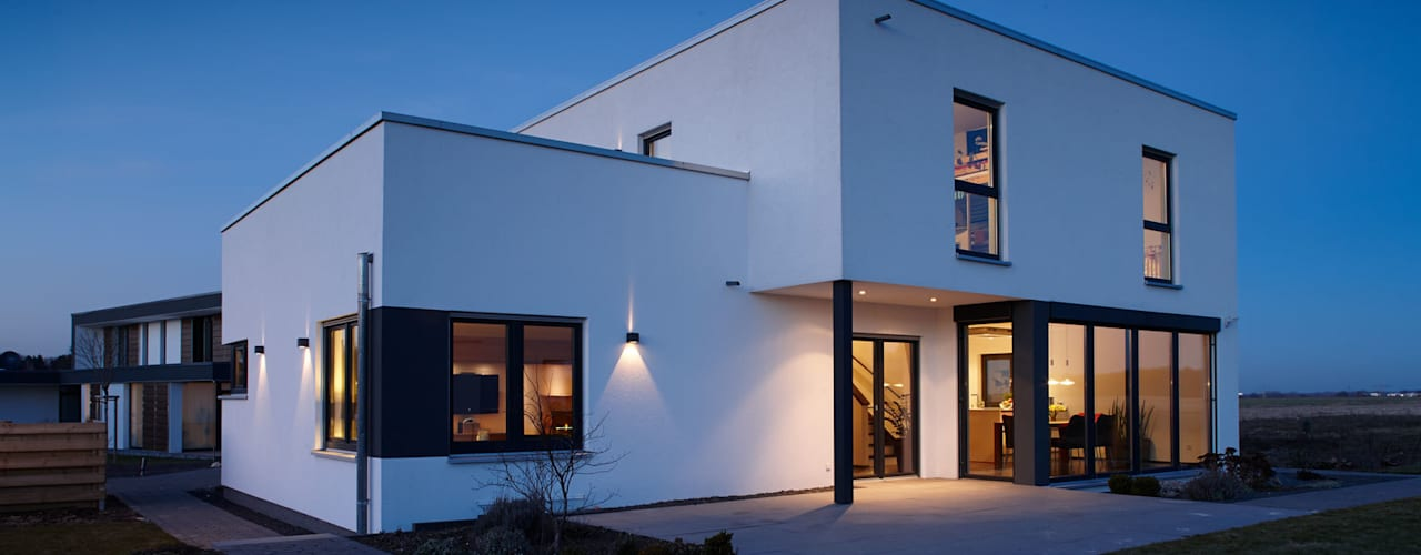 ARCHITEKTUR TREND - Freiraum zum Wohlfühlen:  Einfamilienhaus von FingerHaus GmbH - Bauunternehmen in Frankenberg (Eder)