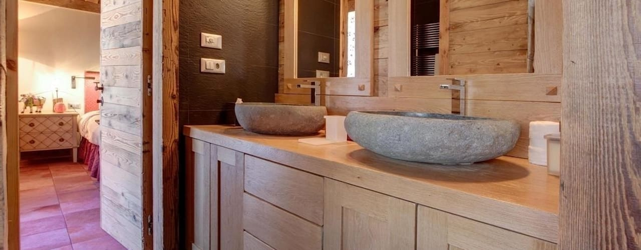 ห้องน้ำ โดย Bosc Vej s.r.l., ชนบทฝรั่ง