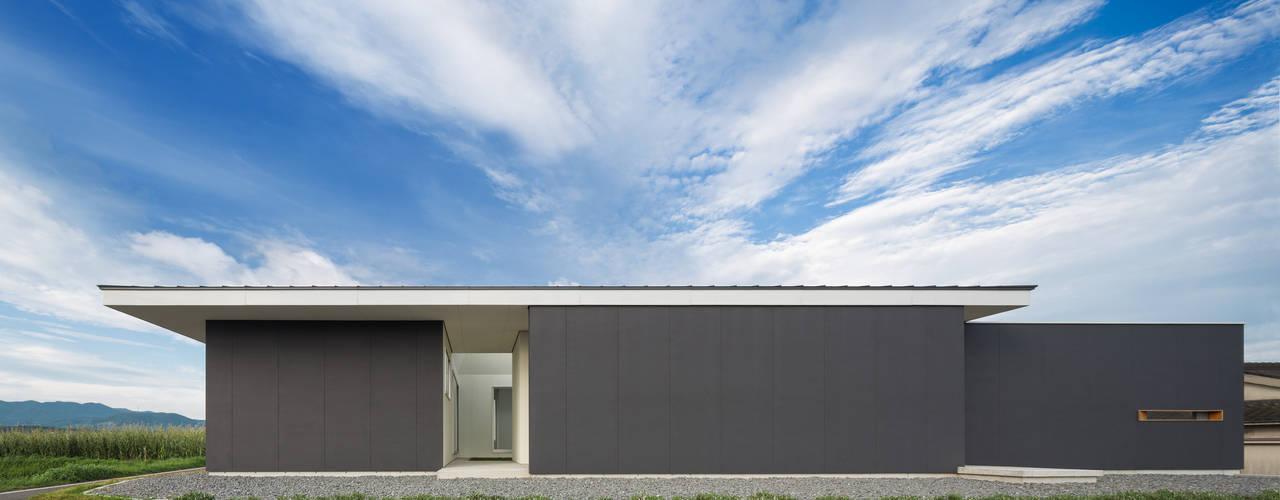 御領の家 末永幸太建築設計 KOTA SUENAGA ARCHITECTS モダンな 家