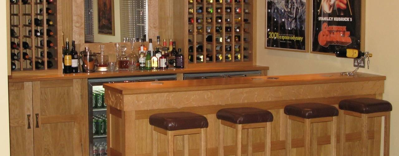 Home Bar by Nick Clarke, Cabinet Maker & Designer Classic