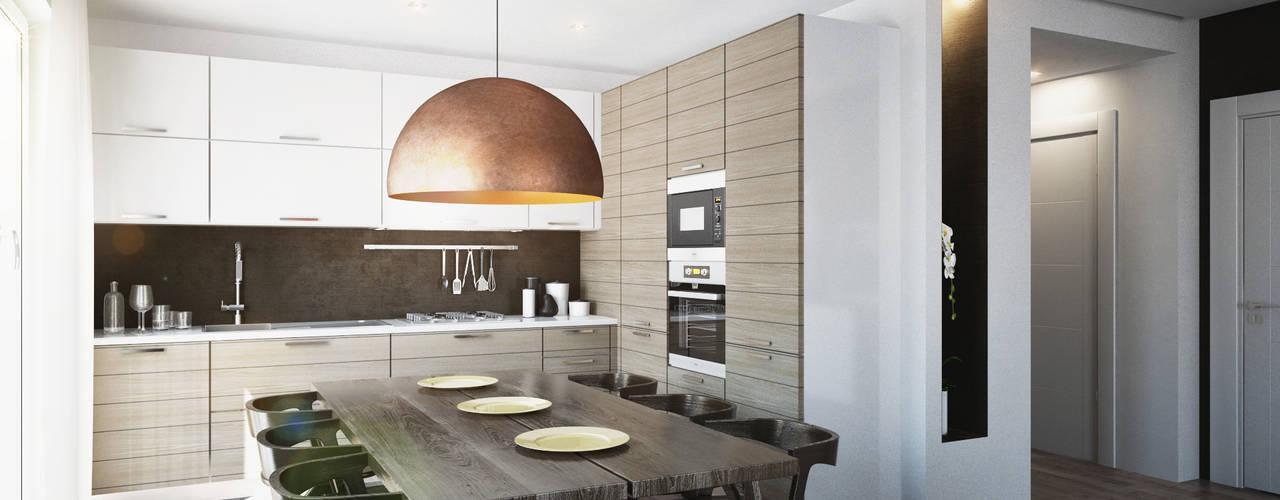 Beniamino Faliti Architetto Modern style kitchen